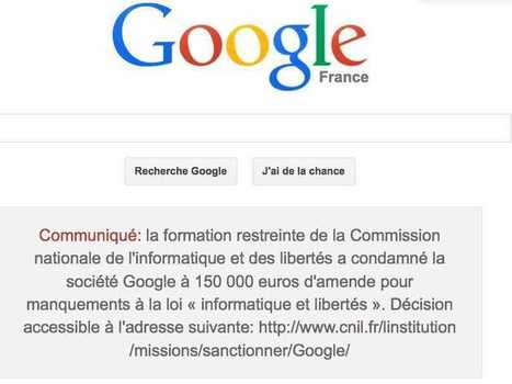 Google Forced To Publish Statement On Front Page In France ... | Travel Tech | Scoop.it