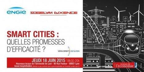 Smart Cities : quelles promesses d'efficacité ? | Smart Ville | Scoop.it