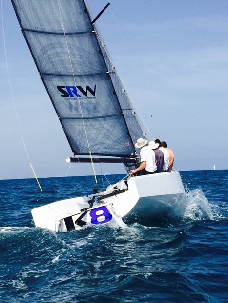 K8 - the world's first wing sail sportsboat - hits the water! | Soft Wing Sails | Scoop.it