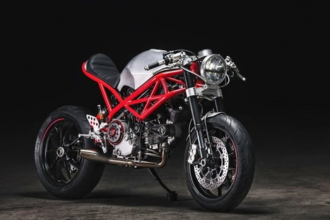 "RocketGarage Cafe Racer: Ducati ""Rat Army"" 