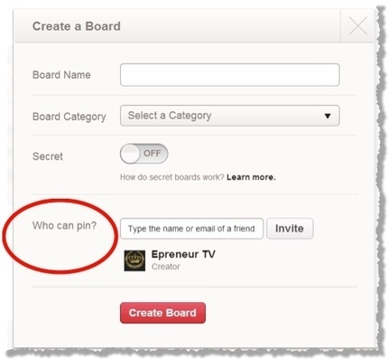 How To Use Pinterest's Group Boards To Get More Exposure For Your Business | Jeffbullas's Blog | The CEO's Guide to Growth | Scoop.it