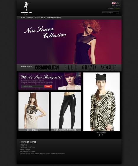 UK Fashion Clothing eCommerce Store | Magento eCommerce CMS Design and Development | Scoop.it
