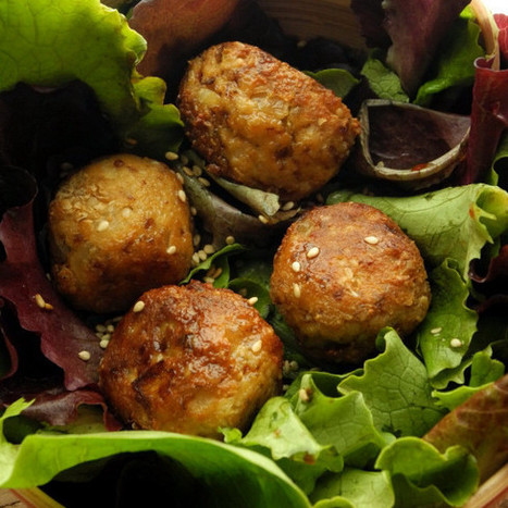 Boulettes de tofu {recette gourmande express} | Le cri de la courgette... La newsletter | Scoop.it