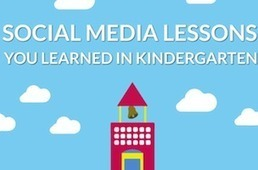5 Simple Social Media Lessons (That You Learned In School) [INFOGRAPHIC] - AllTwitter | Understanding Social Media | Scoop.it