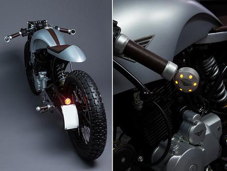 Hero Honda Karizma 'Sliver' by Mean Green Customs   Smotra-moto.ru   Scoop.it