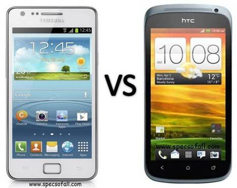 Samsung Galaxy S II Plus vs HTC One S Comparison | Specifications of Smartphones | Scoop.it
