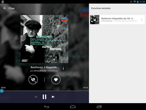 Android: Apps para oir musica online | Tecnovus | Scoop.it