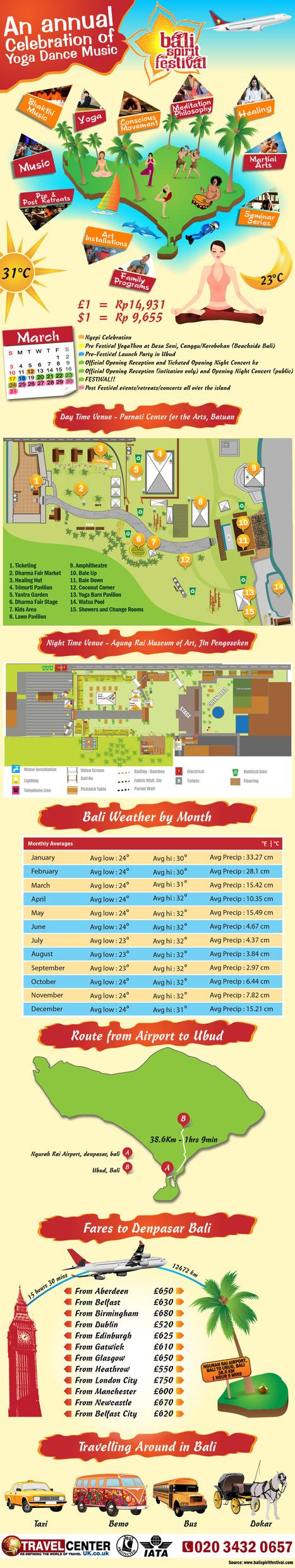 Bali Spirit Festival with Travel Center UK | Travel to Bali Spirit Festival | Scoop.it