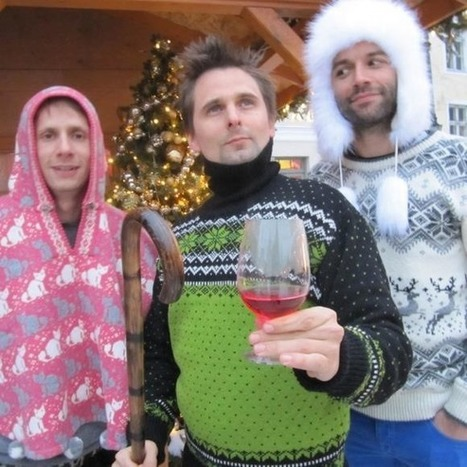 Muse est déjà en mode Noël... | Muse Rock Band | Scoop.it