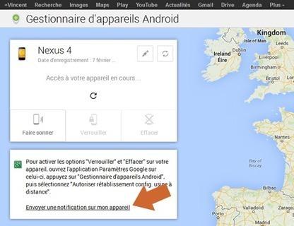 Comment géolocaliser, effacer ou verrouiller à distance son smartphone Android   Panoptinet   Geeks   Scoop.it