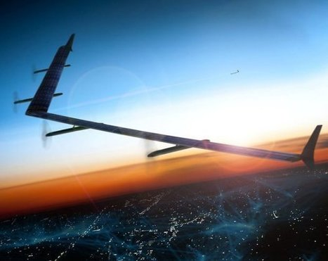 Facebook fait voler son drone de la taille d'un Boeing 737 | Aviation & Airliners | Scoop.it