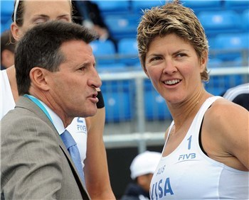 Sebastian Coe confident beach volleyball will hit the heights at London 2012 | Beach Volleyball | Scoop.it