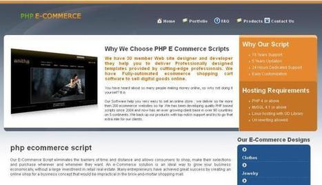 (no title)   readymade php ecommerce script   Scoop.it