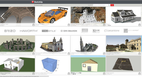 Sketchup Make - La modélisation 3D accessible à tous | Ressources pour la Technologie au College | Scoop.it