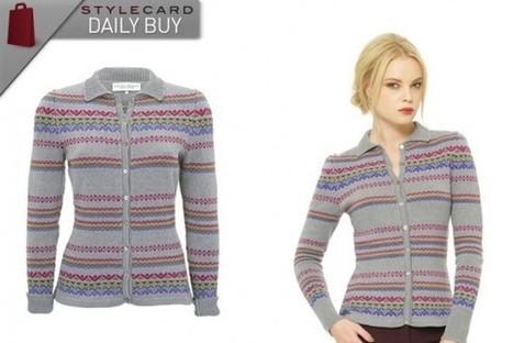 Daily Buy: Chunky Printed Cardigan   StyleCard Fashion Portal   StyleCard Fashion   Scoop.it
