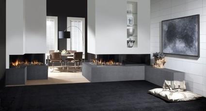[chauffage] Faber : nouveaux foyers d'angle | Immobilier | Scoop.it