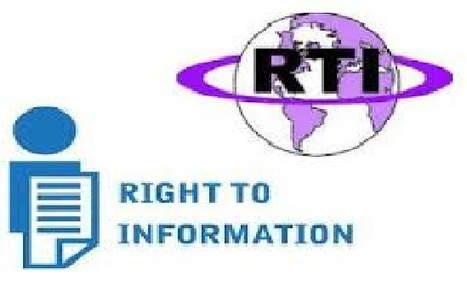 File online RTI pleas for all central government departments from Wednesday   Right to Information   Scoop.it