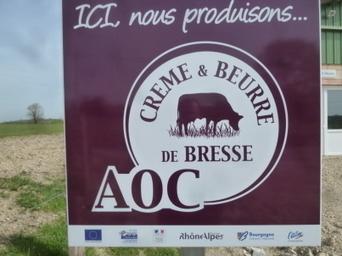 La crème et le beurre de Bresse décrochent la protection de l'UE | Communication Agroalimentaire | Scoop.it