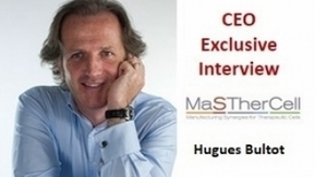 """TiE Brussels Charter Member Hugues Bultot : """"MaSTherCell or the future of CMOs"""" 