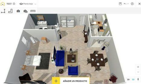 HomeByMe: genial web para diseñar planos de viviendas e interiores | Educacion, ecologia y TIC | Scoop.it