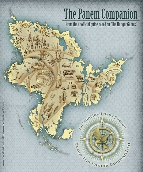 Maps of Panem - The Hunger Games | Era del conocimiento | Scoop.it