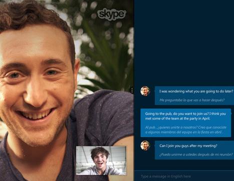 Skype presenta Skype Translator un sistema de traducción simultánea para conversaciones   Aprendiendo-para-vender-mas   Scoop.it