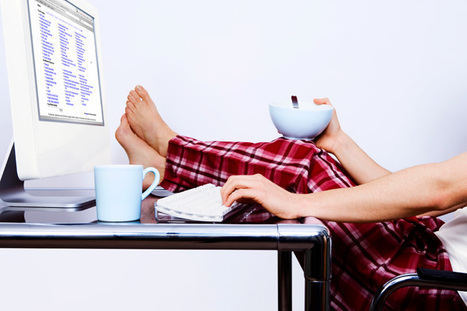 How to Keep Motivated When Working From Home : Under30CEO | Work at Home | Scoop.it
