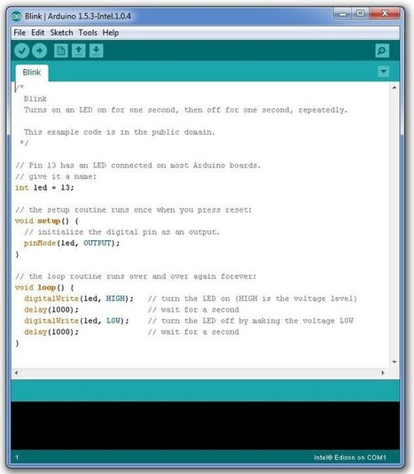 Blinking an LED with the Arduino IDE - Digit | Raspberry Pi | Scoop.it