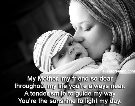 My Mom My Friend So Dear - Mothers Day Poems   Wallpapers   Scoop.it