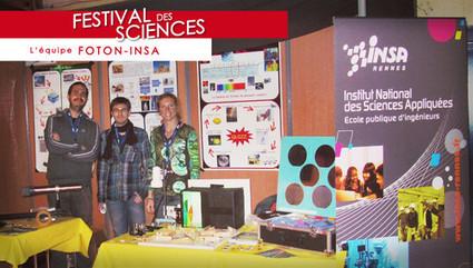 L'INSA de Rennes fête les sciences | revues de presse | Scoop.it