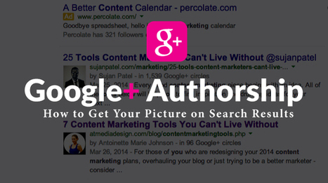 Google+ Authorship: How to Get Your Picture on Search Results | Digital-News on Scoop.it today | Scoop.it
