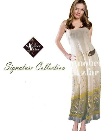 Sanober Azfar Stylish Party Wear Dresses 2013 For Women | womens hair styling | Scoop.it