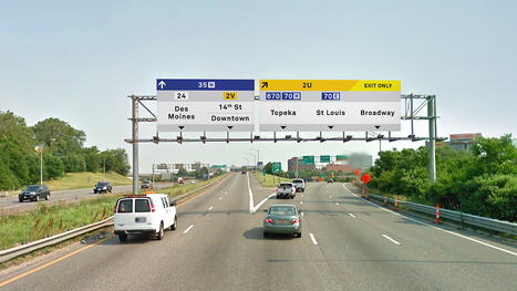 Redesigning Highway Signs, To Talk To Your Smartphone   SF-Cars   Scoop.it