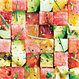 Tomato and Watermelon Salad Recipe at Epicurious.com | Superfoods | Scoop.it