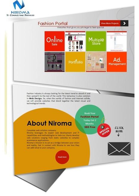 Niroma IT Consulting Services: E-Commerce Website Development: Niroma | Web Development Company | Scoop.it