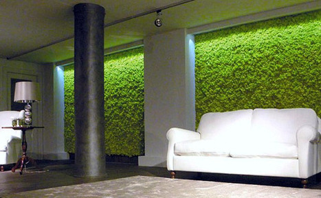 Create an Interior Vertical Garden With Moss Tiles | Urban Gardens | Unlimited Thinking For Limited Spaces | Urban Gardens | Vertical Farm - Food Factory | Scoop.it