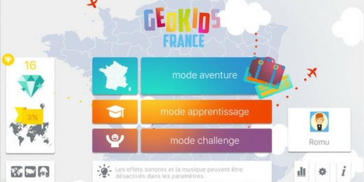 Geokids France, pour connaître la France sur le bout des doigts ! | TIC et TICE mais... en français | Scoop.it