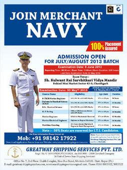List of Merchant Navy Entrance Exams 2013 | application form for merchant navy | Merchant Navy Application Form | Entrance Exam For Merchant Navy | List of Merchant Navy Entrance Exams | merchant navy recruitment 2014 online form | Scoop.it