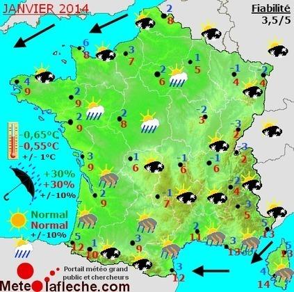 Exploitation des metadonnées climatique. Prévisions saisonnières à 6 mois pour la France. | We are numerique [W.A.N] | Scoop.it