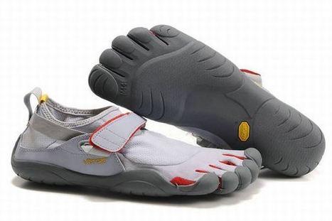 Vibram Five Fingers Kso Lt.Grey/Red Men's | new style | Scoop.it