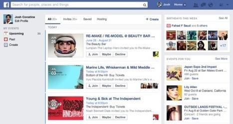 Facebook sta per lanciare una nuova funzione per gli eventi - SocialDaily Italia | Social Media Marketing | Scoop.it