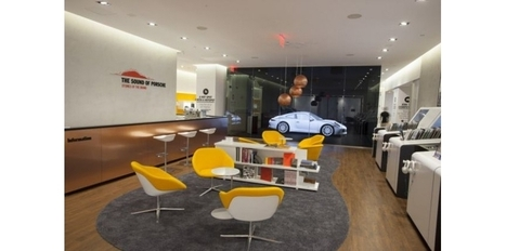 Un Pop Up multisensoriel Porsche à New York | Transformation numérique #EnseignementSup et #recherche | Scoop.it