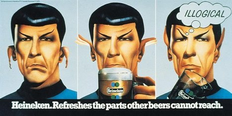 Mr. Spock has a Beer. | Politically Incorrect | Scoop.it