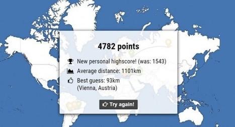 Un nuevo juego de geografía online | La terra, el passat i el present un clic!..... Recursos de geografia i història. | Scoop.it
