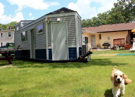 240-square-foot 'NextDoor Housing' created to live by aging loved ones - FOX 9 News | Go-Boomers | Scoop.it
