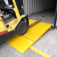 Selecting and using a forklift ramp | The Yard Ramp Guy | Scoop.it