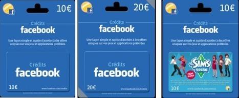 Gift cards: Les cartes cadeaux Facebook Crédits arrivent dans les Fnac | FrenchWeb.fr | Payments 2.0 | Scoop.it