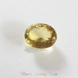 Jual Batu Mulia Greenish Yellow Oval Natural Quartz ukuran Besar | Jual Beli | Scoop.it