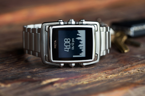 Here's a brand-new luxury Smartwatch that you can preorder right away | Technology in Business Today | Scoop.it